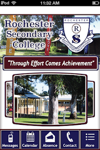 Rochester Secondary College- screenshot thumbnail