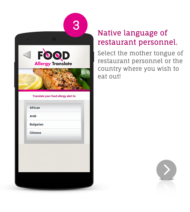 Food allergy translate android apps on google play for Cuisine google translate