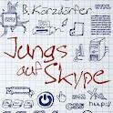 Jungs auf Skype logo