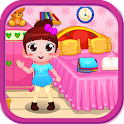 Room laundry games for girls icon