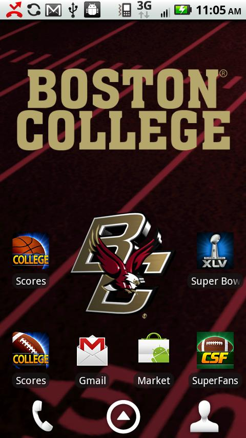 Boston College Live Wallpaper- screenshot
