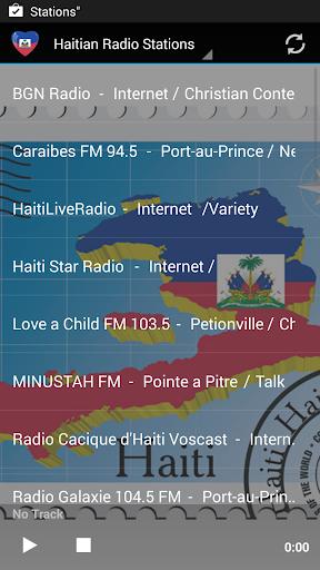 Haitian Music Radio Stations