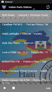 Haiti Music Radio Stations- screenshot thumbnail