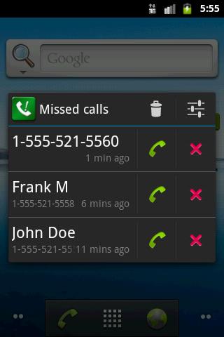 Sensible Missed Call Reminder