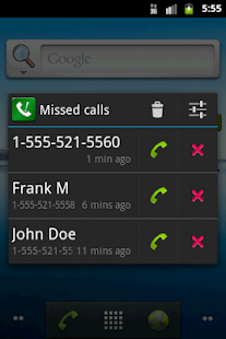 Sensible Missed Call Reminder - screenshot thumbnail