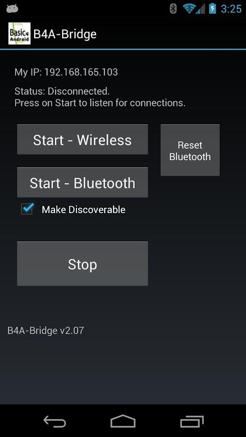 B4A-Bridge- screenshot