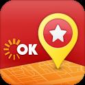 OK Map - 지도, 경로, 교통 그리고 혜택 정보 icon