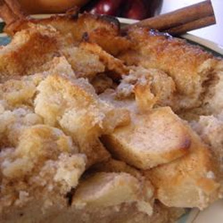 Bread Pudding with Whiskey Sauce.
