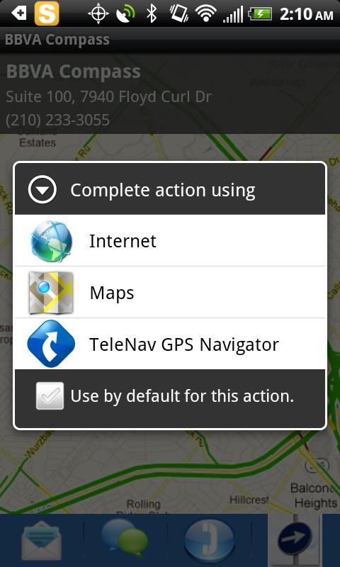 Places Finder and Sender - screenshot