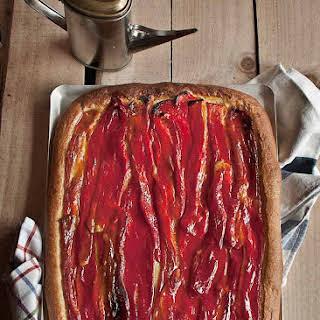 Red Pepper Flatbread.