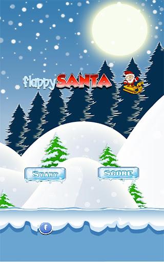 飞扬的圣诞老人