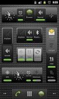 Screenshot of Black&glossy skins gX Switches