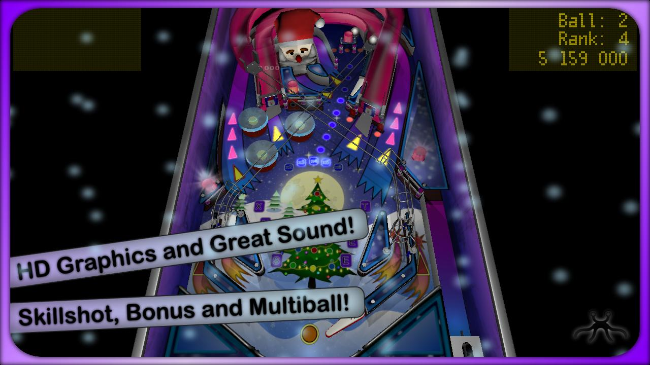 Xmas Pinball Lite - screenshot