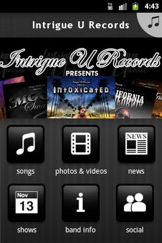 Intrigue U Records - screenshot