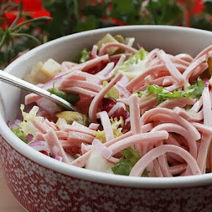 Homemade Sausage Salad