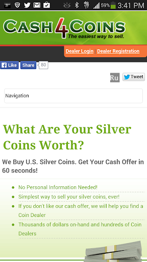 Sell Silver Coins Cash4Coins