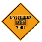 Batteries Act 2001 icon