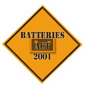 Batteries Act 2001