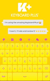 Yellow Keyboard - náhled