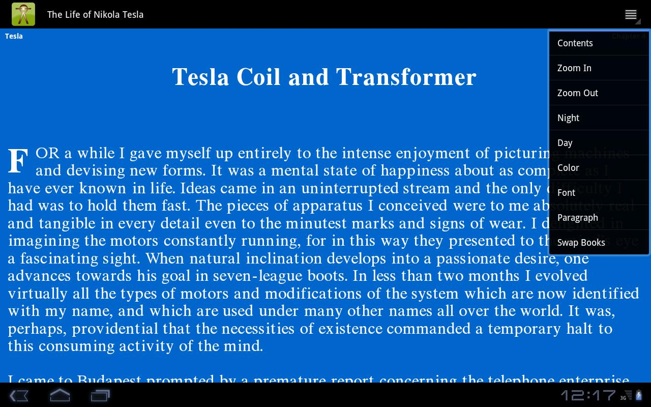 The Life of Nikola Tesla- screenshot