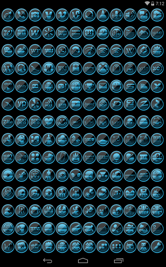 Platinum ICS - Icon Pack- screenshot