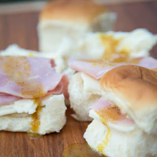 Ham & Cheese Sliders with Honey Mustard