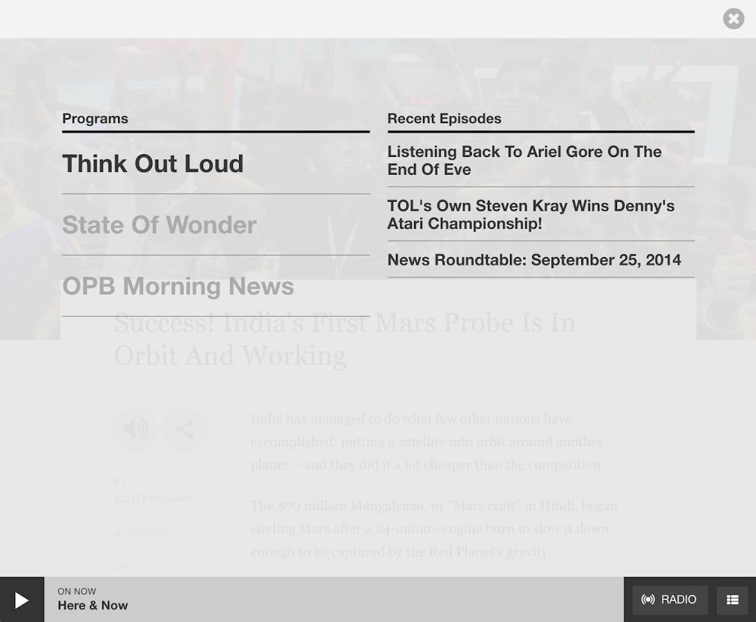 OPB News- screenshot