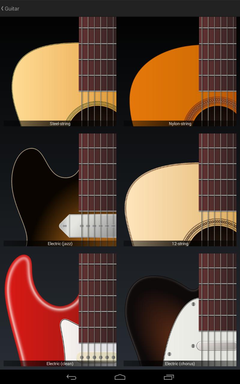 Jimi Guitar screenshot #13