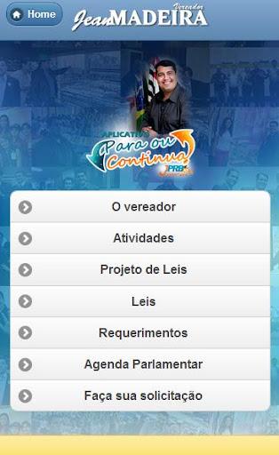 【免費社交App】Vereador Jean Madeira-APP點子