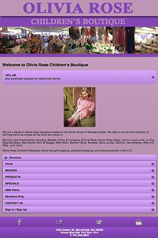 Olivia Rose Childrens Boutique