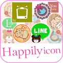 happilyicon(アイコン着せ替えアプリ) icon