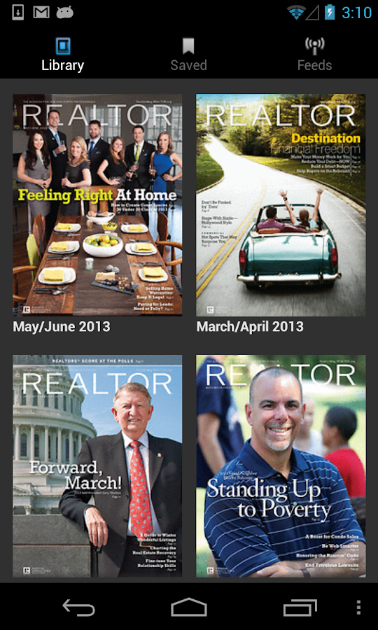 REALTOR® Magazine - screenshot