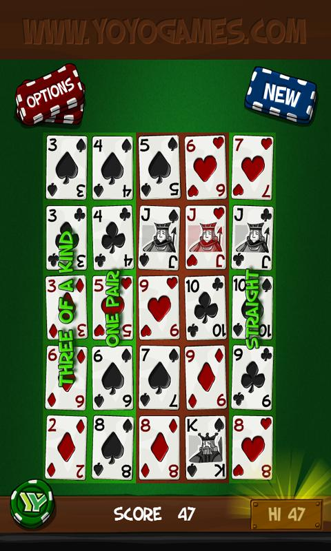 Simply Poker Squares Free - screenshot