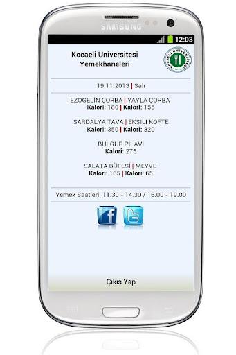 多人下載使用APP工具KOU Yemekhane!app開發團隊經典作品