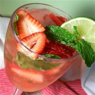 Strawberry-Mint Soda