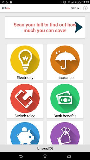 HITbills - Money Saving App