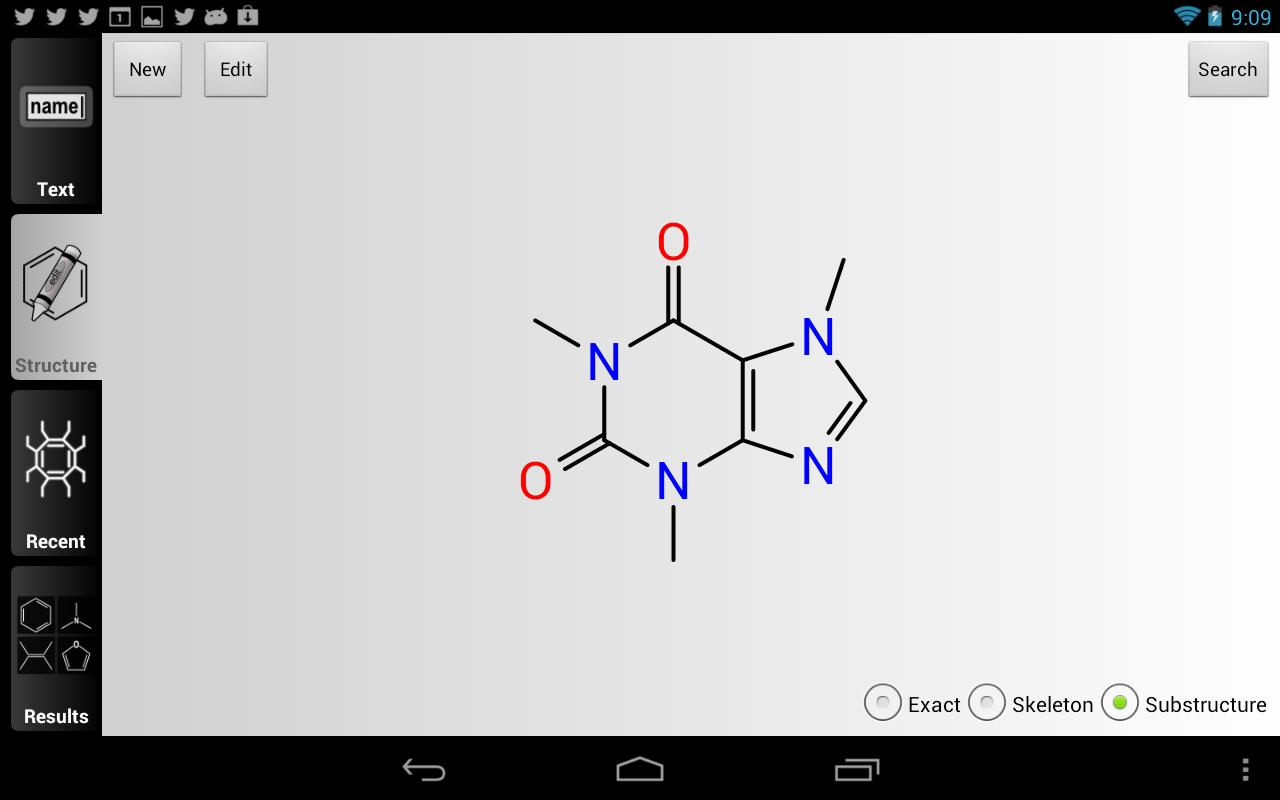 ChemSpider Mobile- screenshot