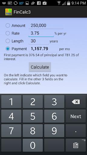Simple Financial Calculator