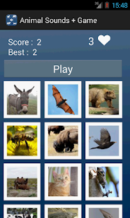 Animal Sounds + Game- screenshot thumbnail