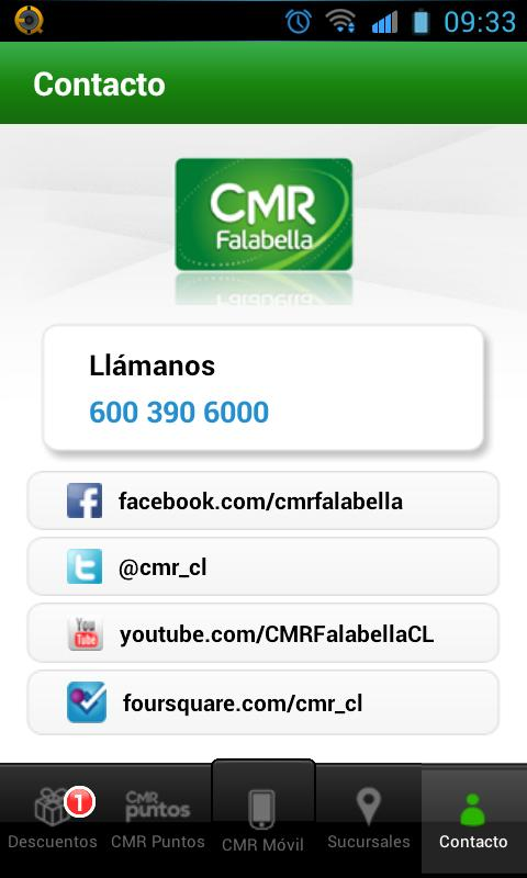 CMR Falabella - Chile - screenshot
