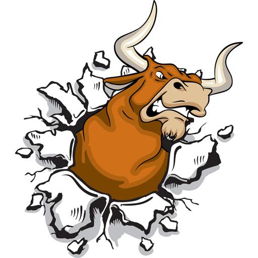 Angry Bull Run LOGO-APP點子