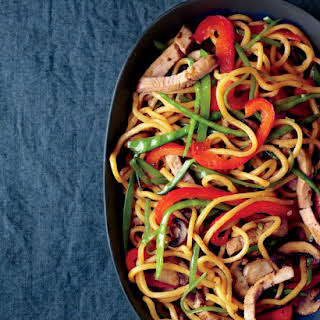 Lo Mein with Pork.