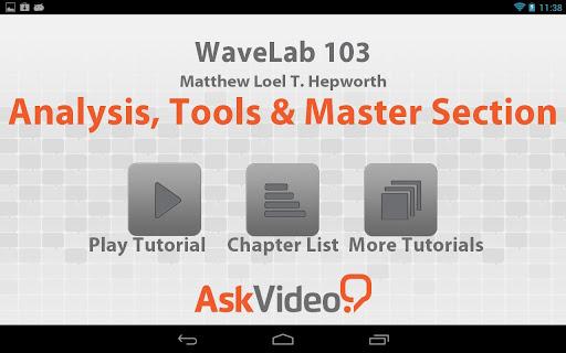 WaveLab - Tools Mastering