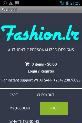 Fashion.lr shop in style