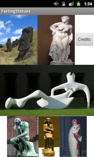 Farting Statues