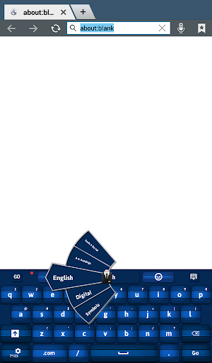 玩個人化App|GO Keyboard Blue免費|APP試玩
