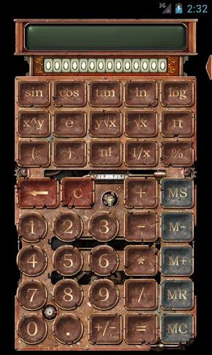 Steampunk Calculator HD