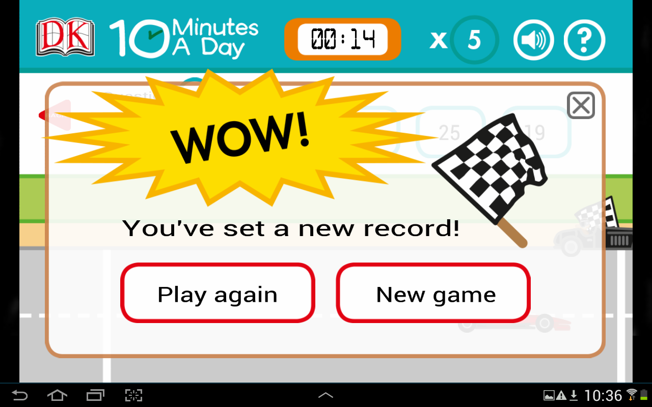 10 Minutes a Day Times Tables - Android Apps on Google Play
