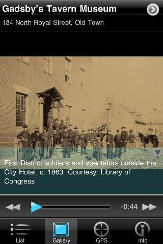 Civil War Tour Alexandria- screenshot
