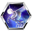 Astrological signs puzzle icon